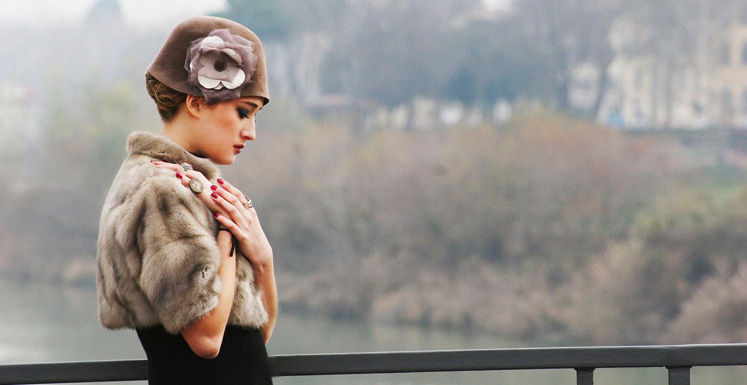 Angiolo Frasconi produzione cappelli donna Firenze