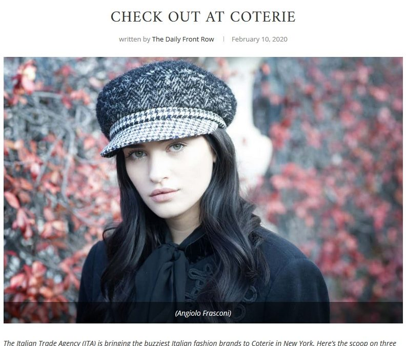 Coterie New York and The Daily Front Row